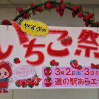 3/2~3/3 道の駅いちご祭り大盛況でした!